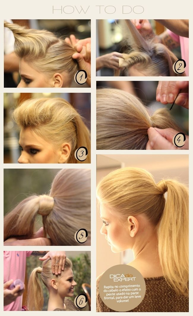 easy to do hair style top 10 fashionable ponytail hairstyles for summer 2018 8232