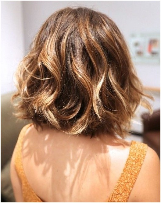 short hair ombre style 22 hairstyles for summer 2015 styles weekly 5407 | Ombre Wavy Hairstyle for Short Hair