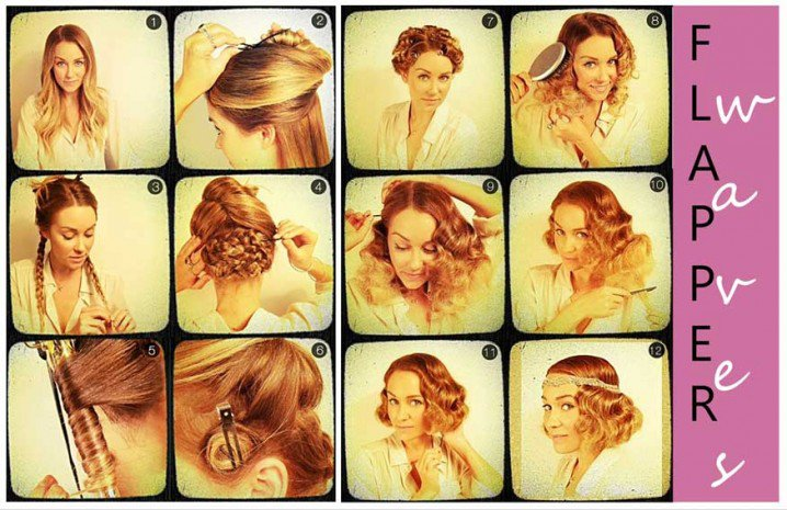 Chic Flapper Hairstyle Tutorial