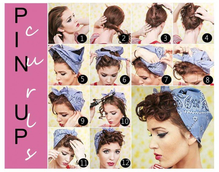 Stunning Retro Headband Hairstyle
