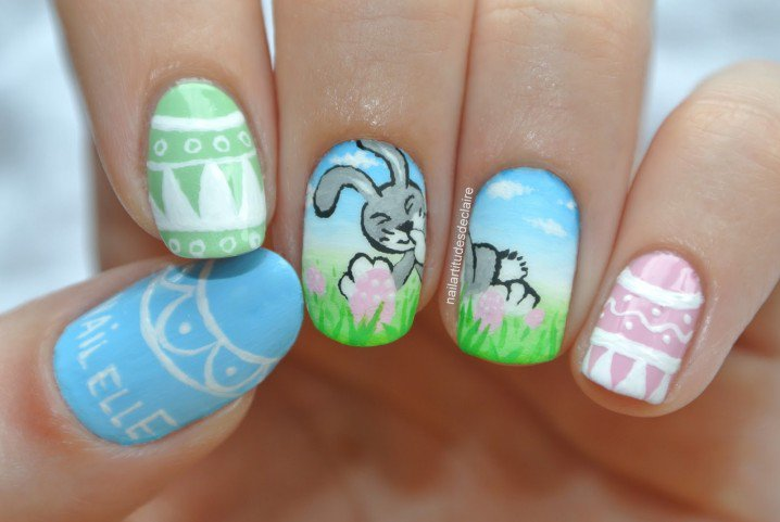 Pretty Nail Design for Spring
