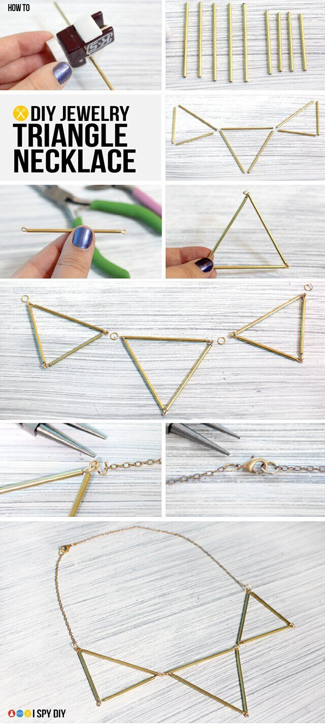 Pretty Triangle Necklace