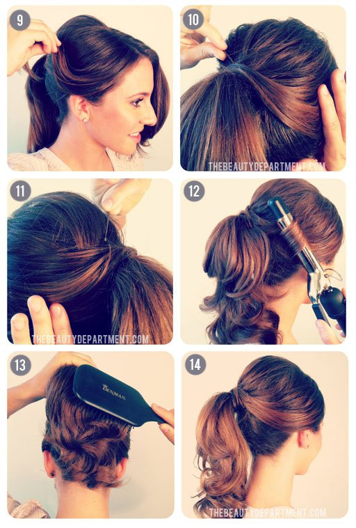Stupendous 18 Graceful Vintage Hairstyle Tutorials Styles Weekly Short Hairstyles For Black Women Fulllsitofus