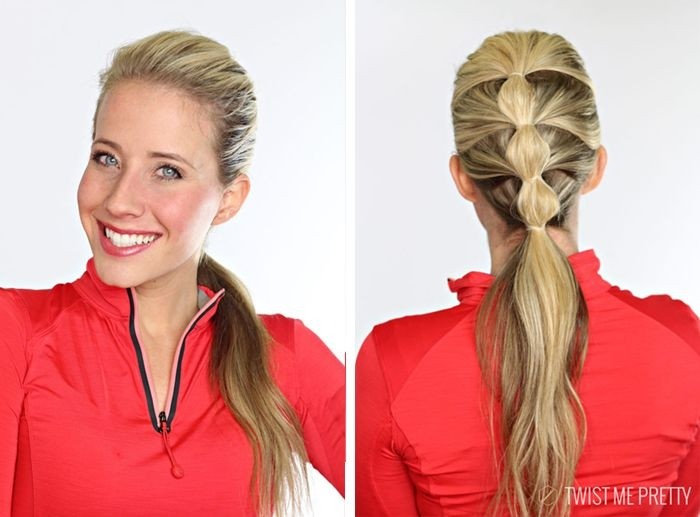 Cute Low Ponytail Hairstyle Idea