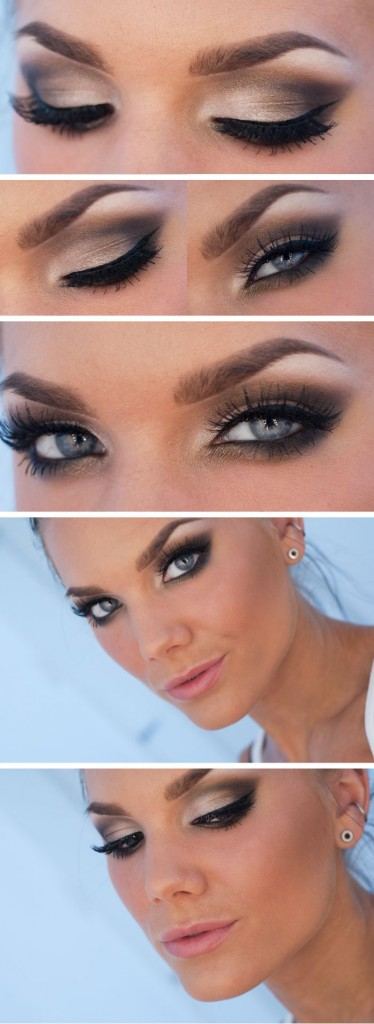 20 Easy Blue Eyes Makeup Tutorials For Beginners Styles Weekly