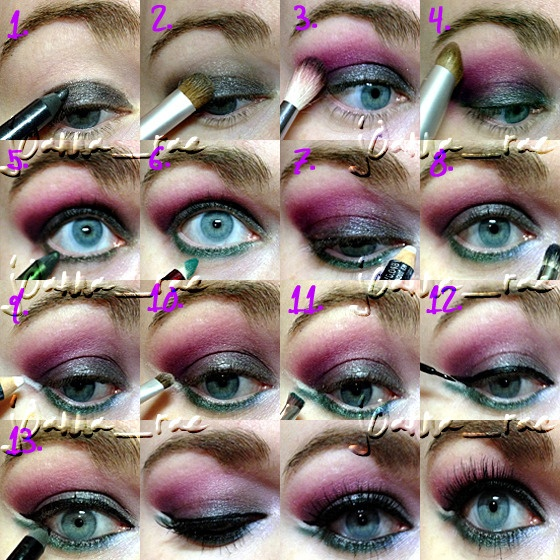 Eye makeup tutorials for blue eyes