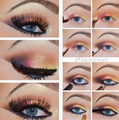 Blue Eyes Makeup Tutorials For Beginners