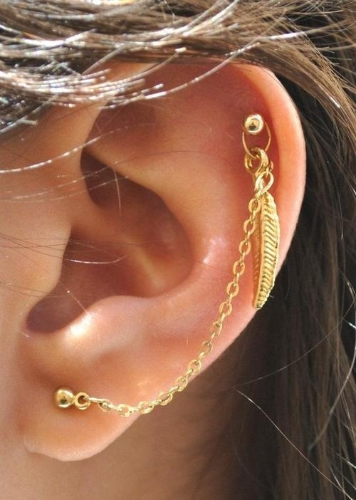 17 Chic Ear Piercing Ideas for Fashionistas to Copy