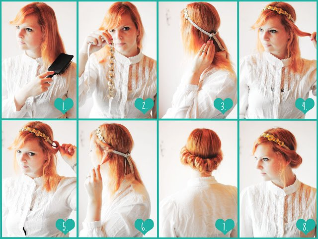 Fashionable Updo Hairstyle Tutorial
