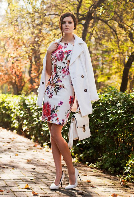 Fabulous Floral Dress Outfits for 2015 | Styles Weekly