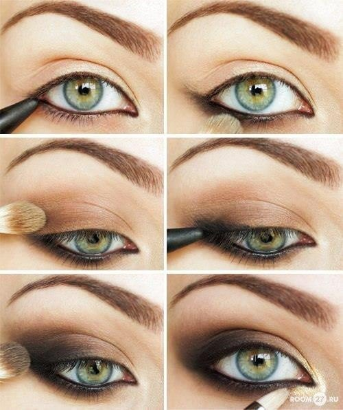 smoky-eyes-tutorial-for-green-eyes