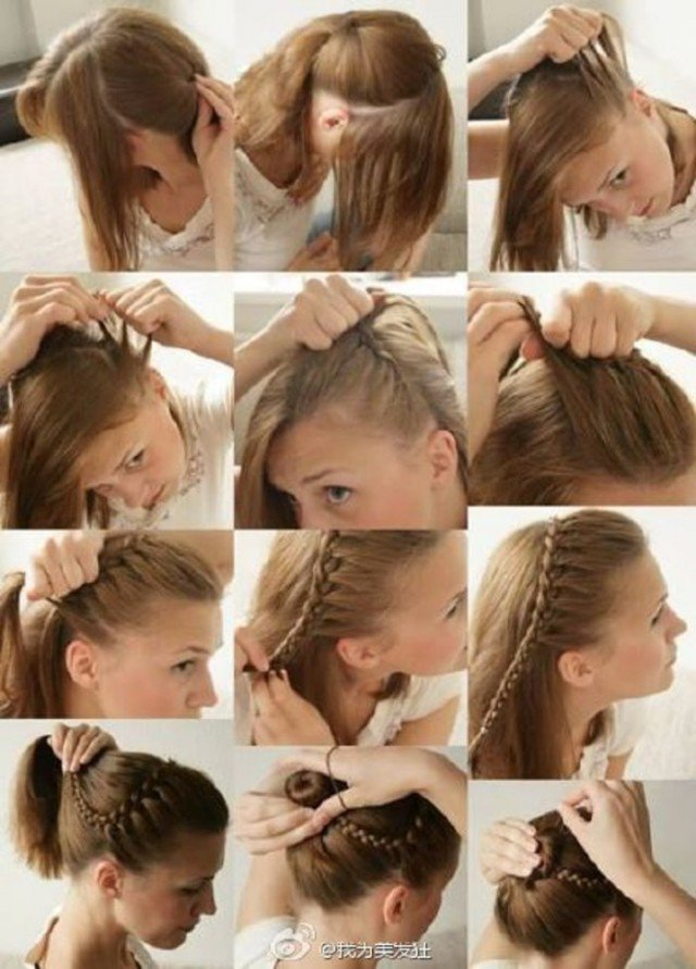 Cute Braided Hairstyle Tutorial