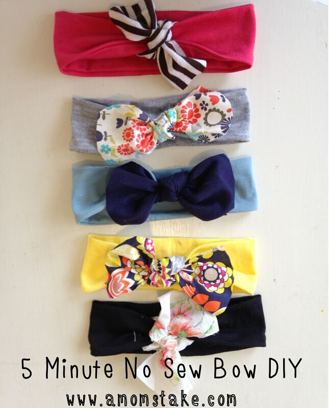 5 Minute No Sew DIY Headband