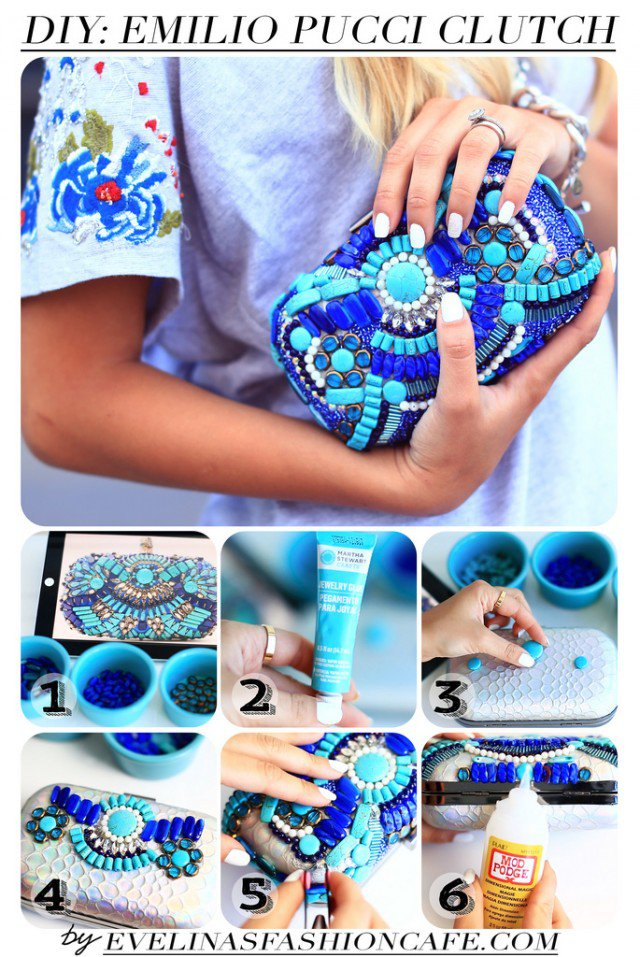 DIY Emilio Clutch Idea