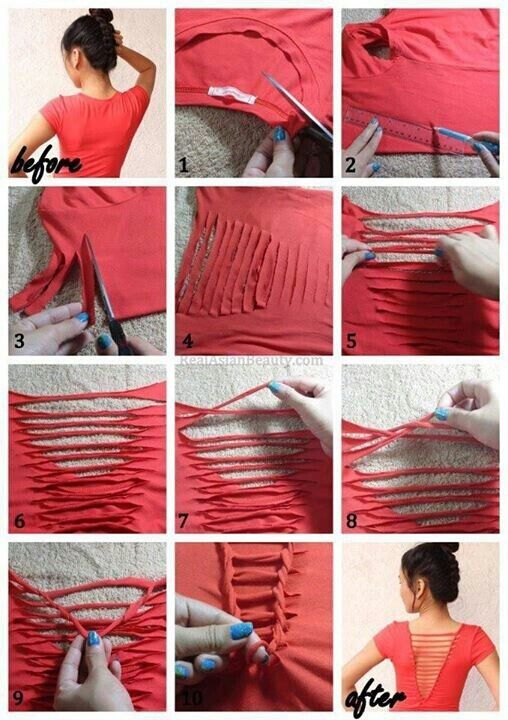 40 simple no sew diy clothing hacks designs and ideas styles weekly