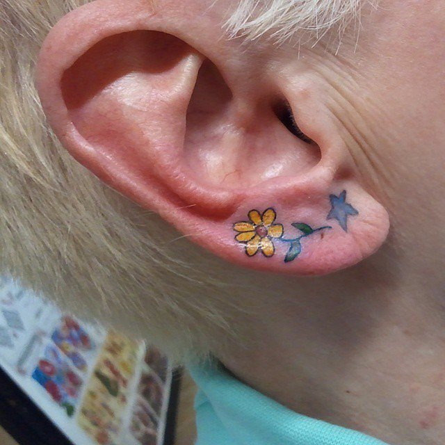Bloom tattoo for ladies