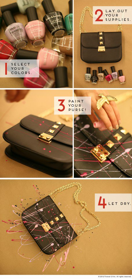 DIY Carrie Purse