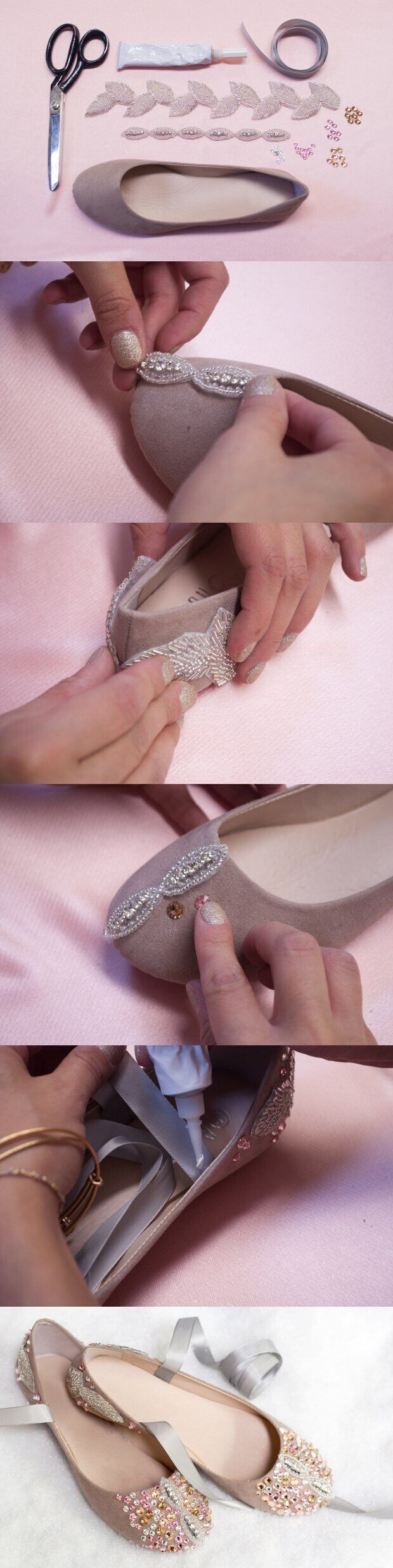 DIY Ballet Flats: Cute Shoe Ideas