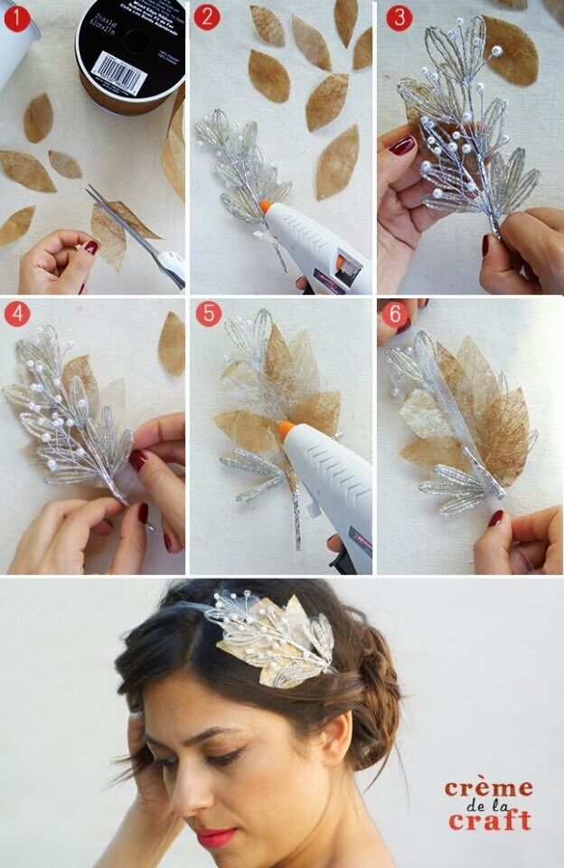 DIY Bridal Headband