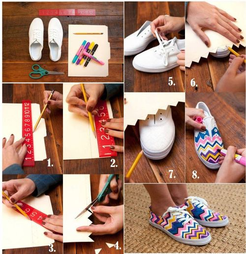 DIY Fashion Sneakers