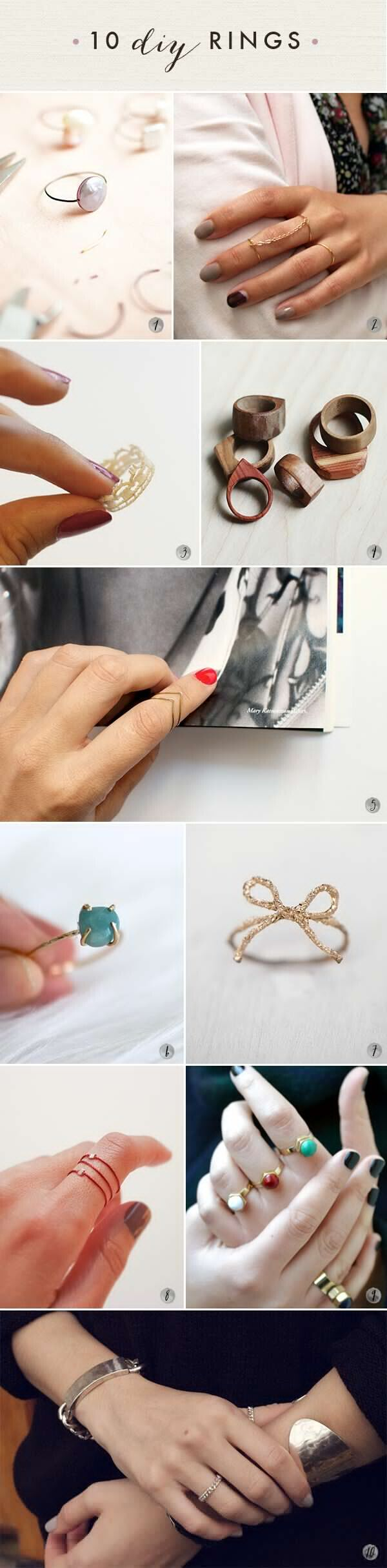 DIY Lovely Rings!