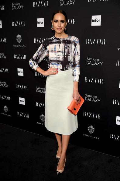 Fashionable Mid-length A-line Skirt