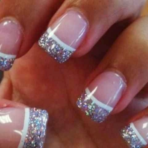 23 Amazing French Manicure Nail Art Designs Styles Weekly