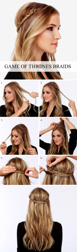 Beautiful Hairstyle Tutorial for Summer