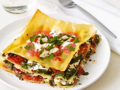 Grilled lasagna