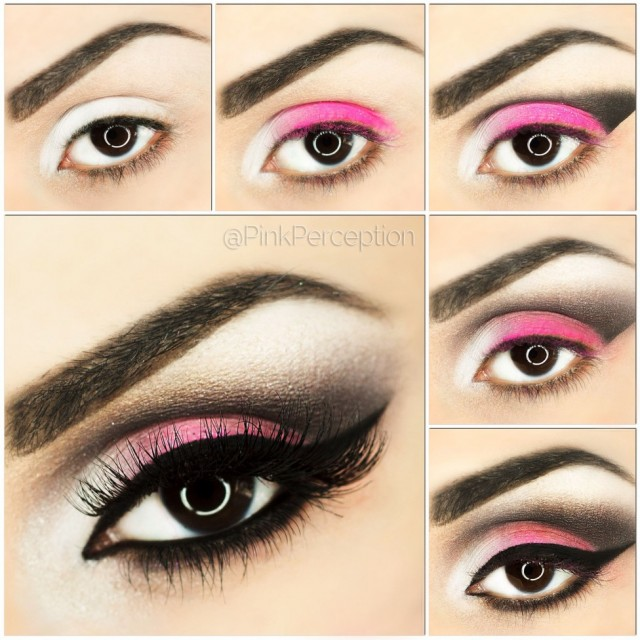 Beautiful Pink Eye Makeup Tutorial