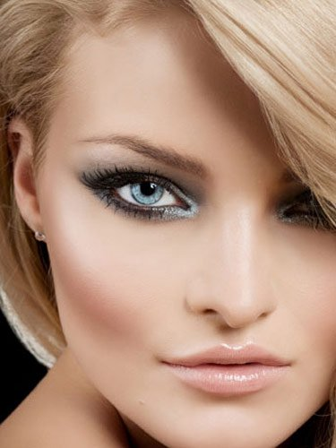 Bridal Cat Eye Makeup Idea