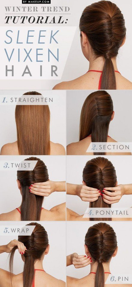 Fashionable Office Hairstyle Tutorial