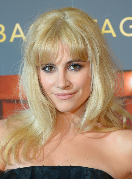 Pixie Lott Pretty Waves with Bangs