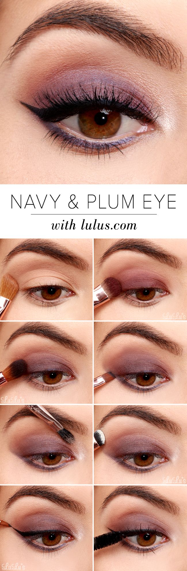 27 Pretty Makeup Tutorials For Brown Eyes Styles Weekly