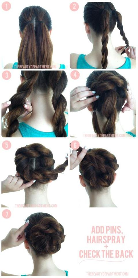 Awe Inspiring 15 Beautiful Hairstyle Tutorials For All Occasions Styles Weekly Hairstyle Inspiration Daily Dogsangcom