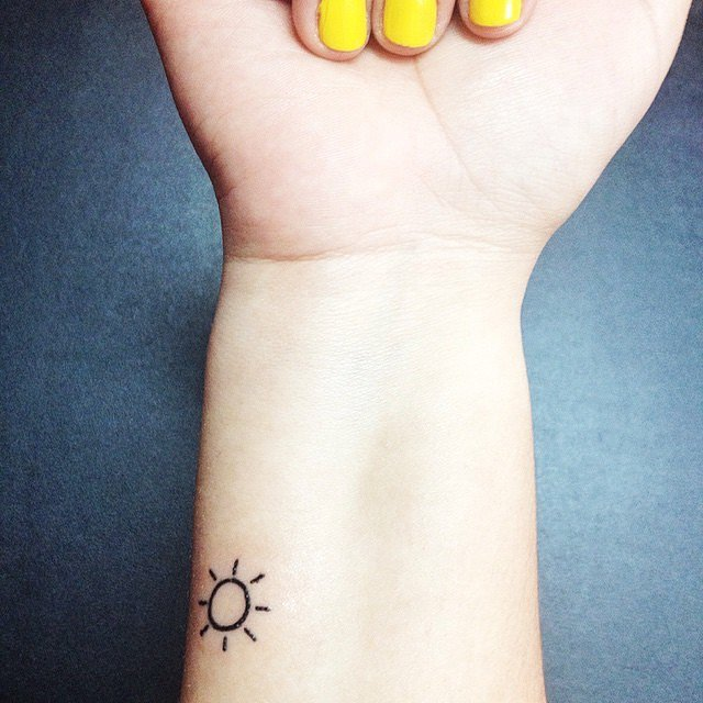 Ray-Sun Tattoo for women