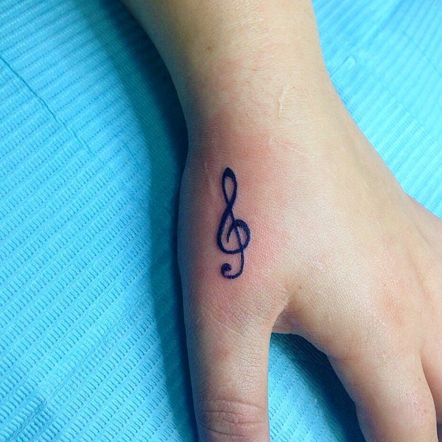 Right-Note Tattoo