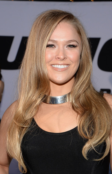 Ronda Rousey Sweet Long Curls