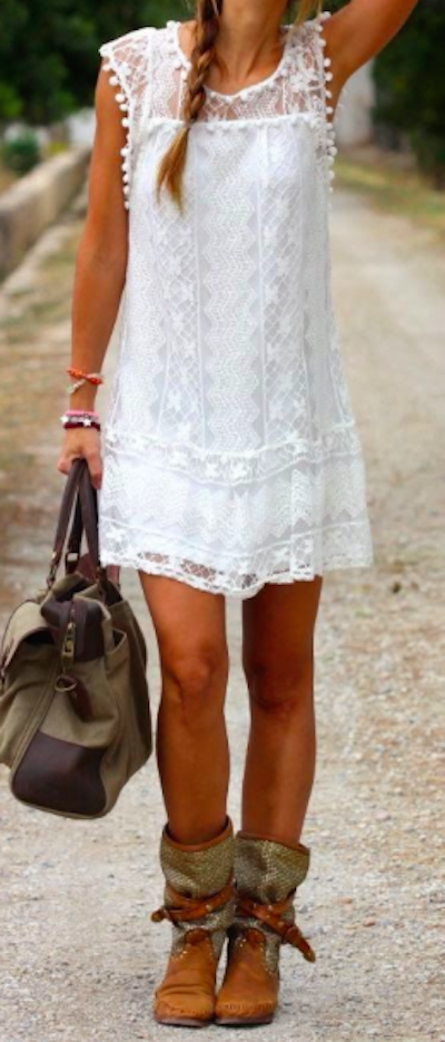 Simple Lacy Dress