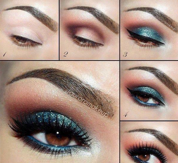 Lovely Eye Makeup Tutorial for 2015