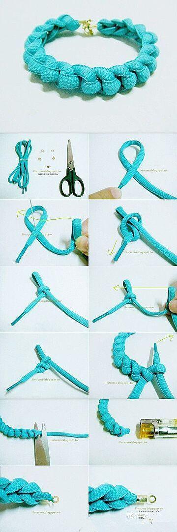 Shoe Laces Bracelets