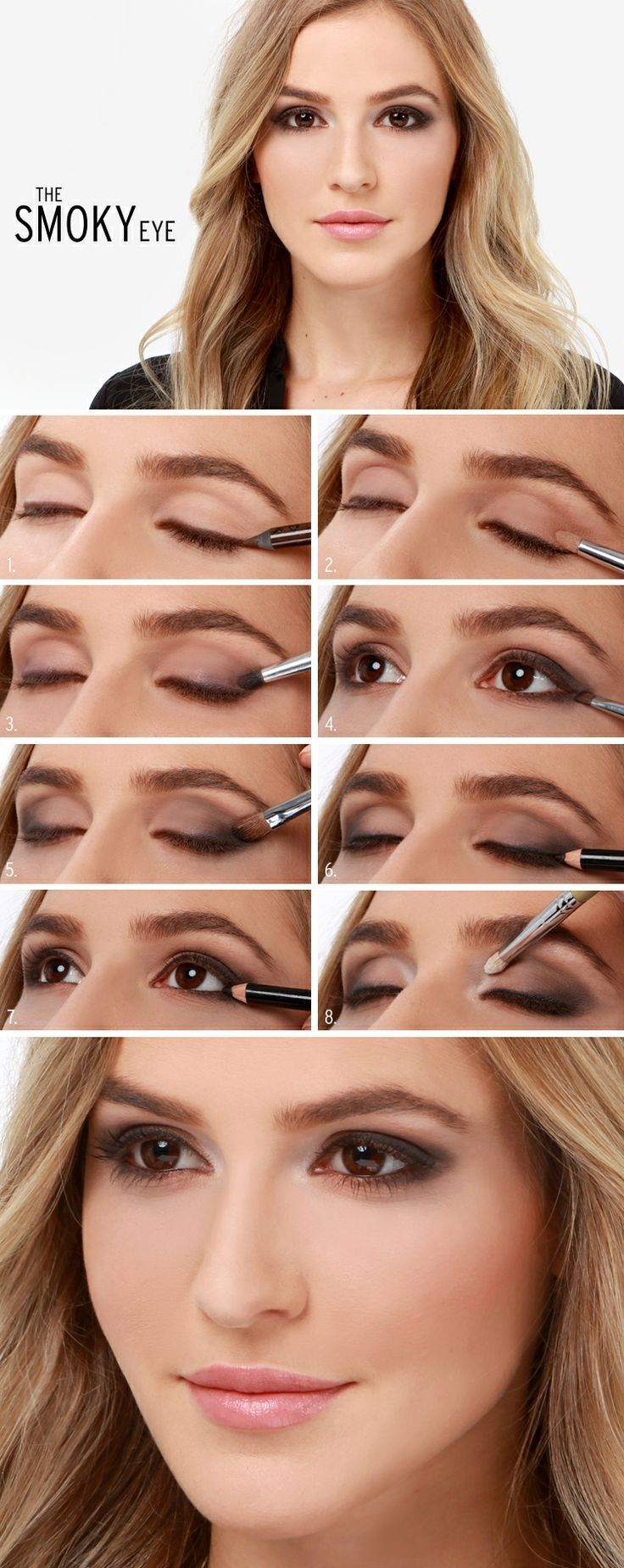 27 pretty makeup tutorials for brown eyes styles weekly eyeshadow for brown eyes baditri Gallery