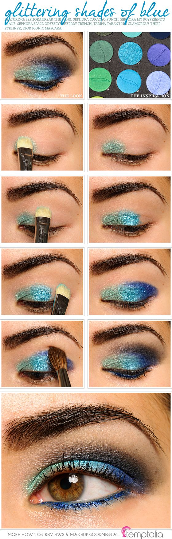 cute makeup ideas for blue green eyes | saubhaya makeup