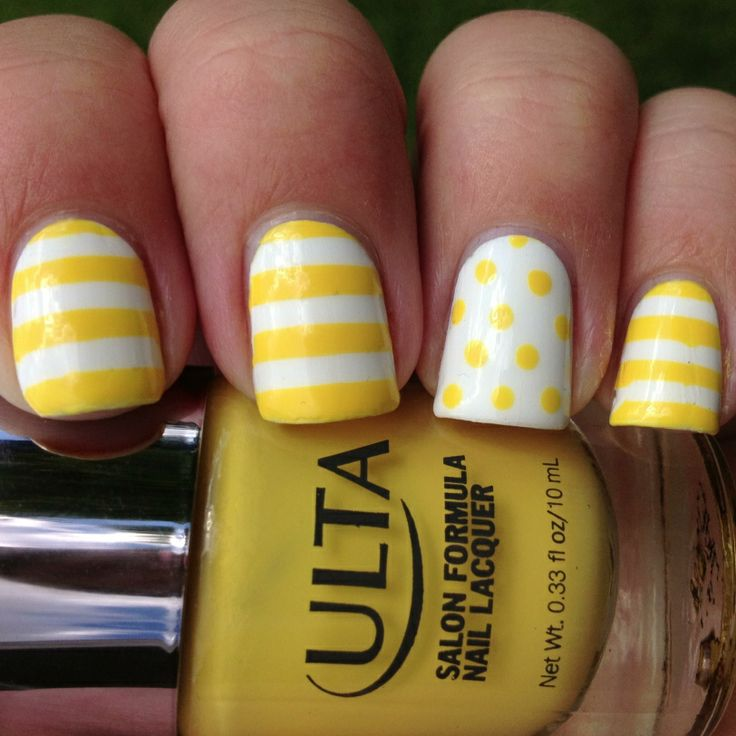 Stripes and dots of sunshine