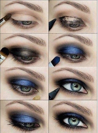 Sultry Blue Eye Shadow