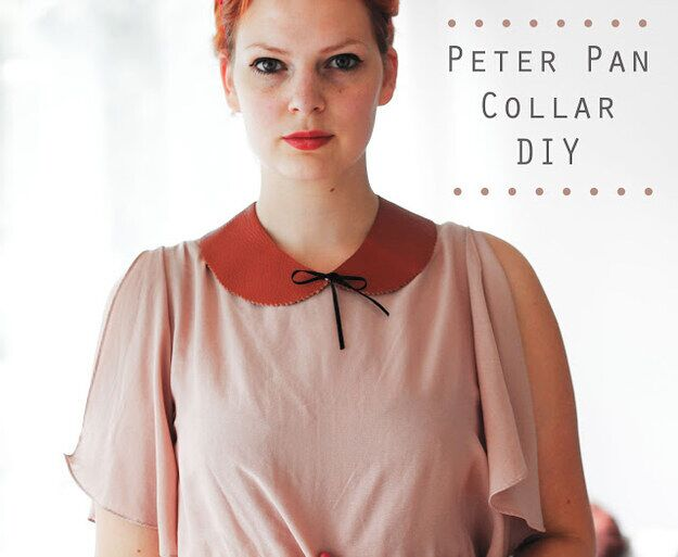 This peter pan collar is the perfect addition to any outfit