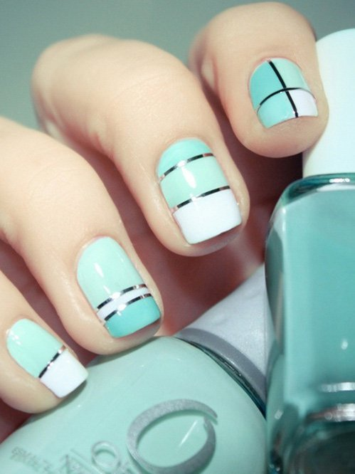 Fashionable Summer Nail Design Idea