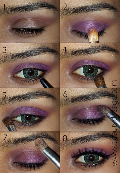20 Fashionable Smoky Purple Eye Makeup Tutorials For All Occasions Styles Weekly