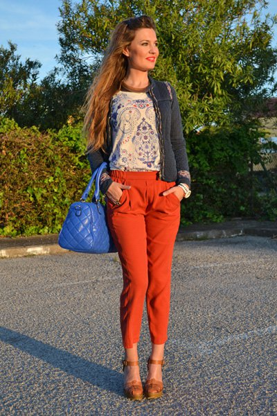 Street Style Outfit Idea for Spring
