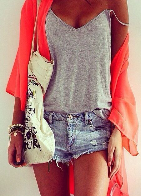 A fun way to wear a kimono